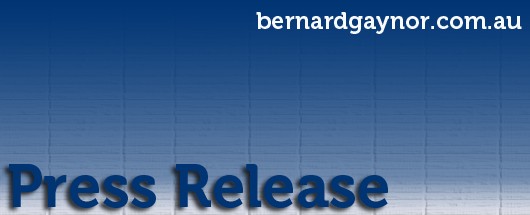 Press release: Defence terminates Major Bernard Gaynor