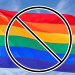 No gay flag
