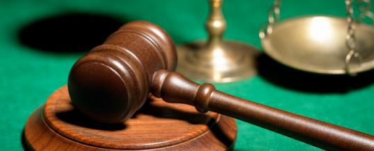 Update: Legal matters