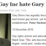 Gay Inc Hates Burns