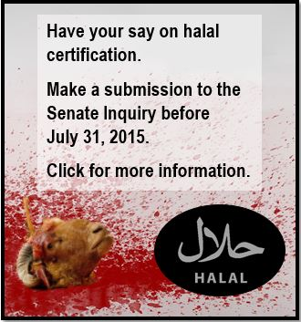 Have your say on halal certification